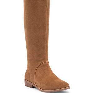 UGG DALEY TALL SUEDE BOOTS CHESTNUT NEW!